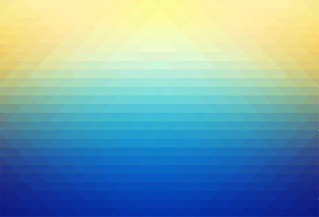抽象的なカラフルな幾何学的図形の背景 無料ベクター