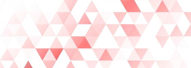 モダンなカラフルな幾何学的図形のバナーの背景 無料ベクター
