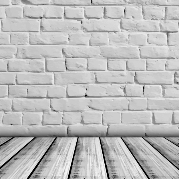 木製のベースと壁のテクスチャ 無料ベクター