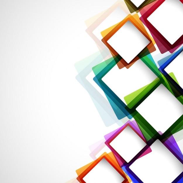 Красочные абстрактного фона Бесплатные векторы