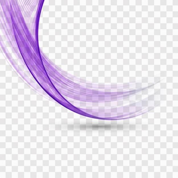 Фиолетовый волнистый фон Бесплатные векторы