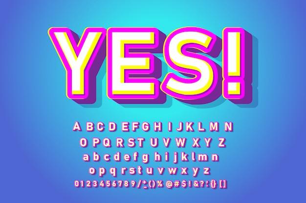 お菓子のトレンディなアルファベット。クールなフォント Premiumベクター