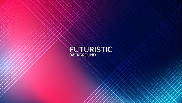 抽象的な光線未来的な背景 Premiumベクター