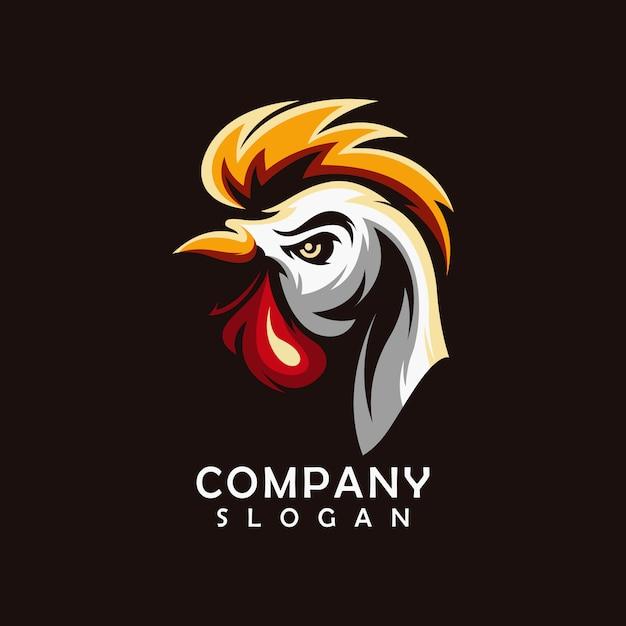 チキンのロゴのベクトル Premiumベクター