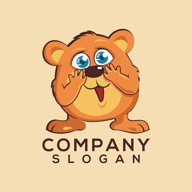 動物のロゴ Premiumベクター