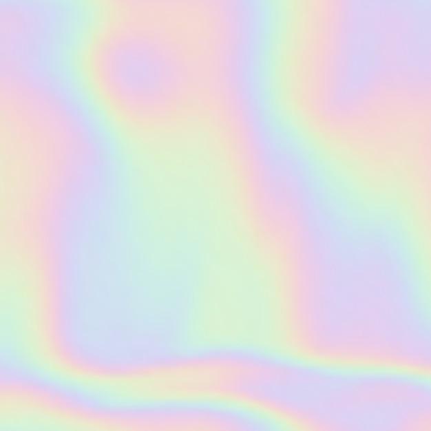 抽象的なホログラムグラデーションの背景 無料ベクター