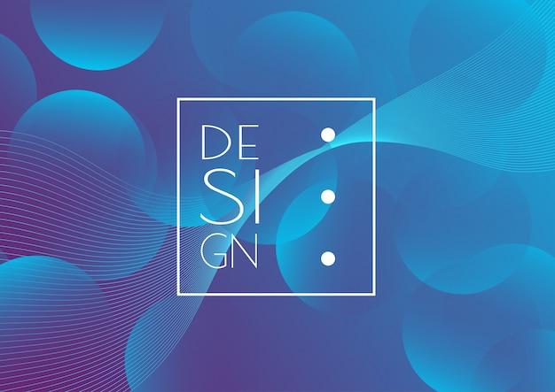 抽象的な創造的なデザインの背景 無料ベクター