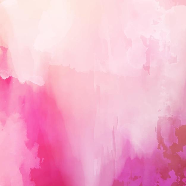 Розовая акварель Бесплатные векторы