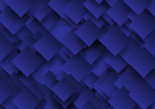 抽象的な正方形デザインの背景 無料ベクター