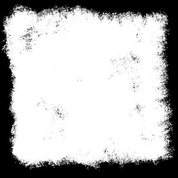 黒と白に囲まれたグランジ背景 無料ベクター