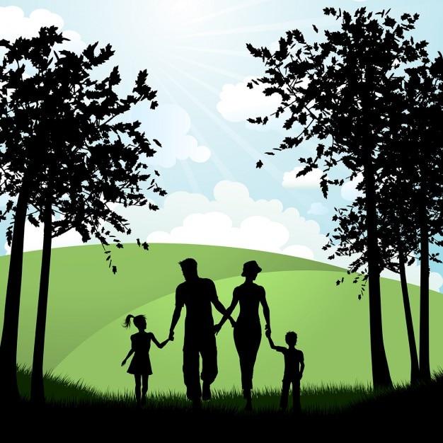 Семья картинка растровая графика