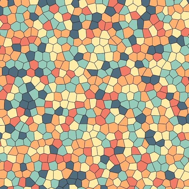 Шаблон фон с эффектом цветного стекла Бесплатные векторы