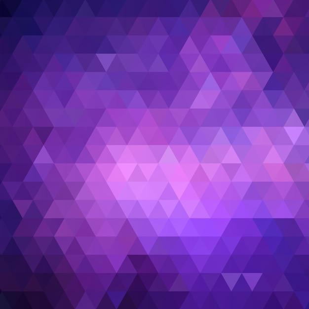 Низкий полифон в фиолетовом Бесплатные векторы