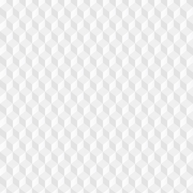 ホワイトキューブパターン 無料ベクター