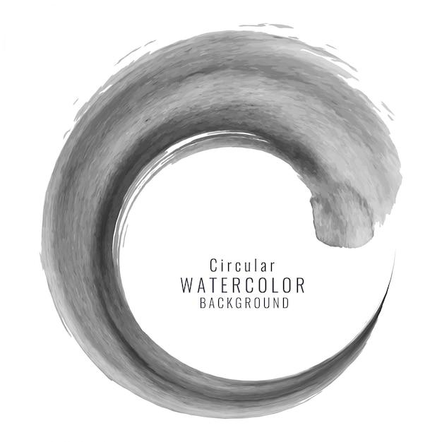 アブストラクトグレースワール水彩スプラッシュ背景 無料ベクター