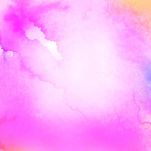 Абстрактная розовая акварель элегантный фон Premium векторы