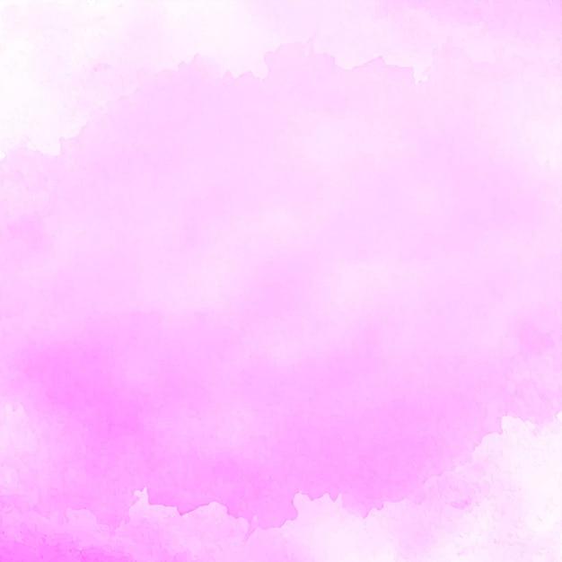 抽象的な柔らかいピンクの水彩画の背景 無料ベクター