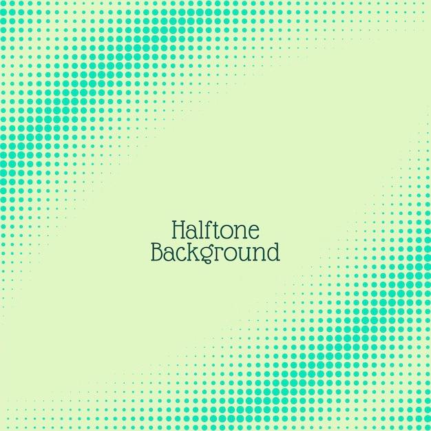 抽象的なハーフトーンの背景 無料ベクター