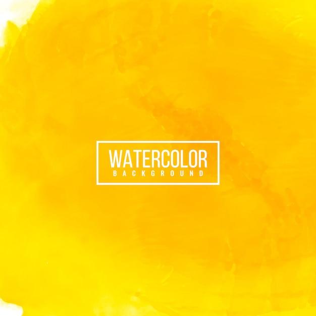 抽象的な明るい水彩画モダンな背景 無料ベクター