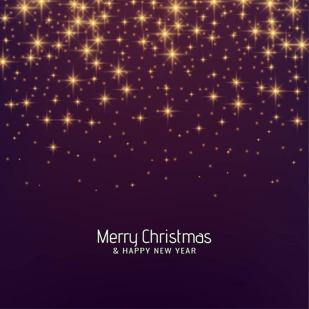 Счастливого рождества фестиваль блестит фон Бесплатные векторы
