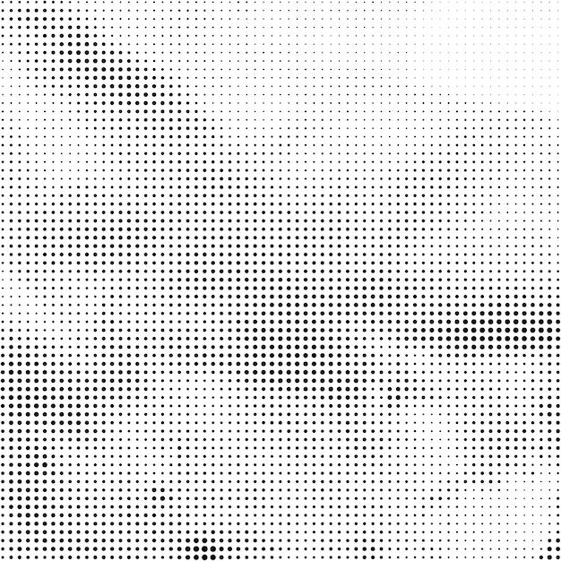 抽象的な黒ハーフトーンエレガントな背景 無料ベクター
