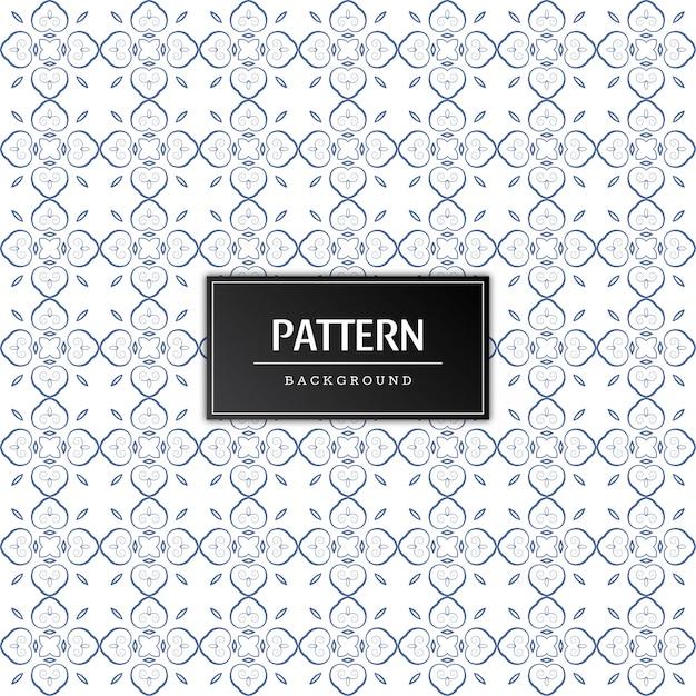 最小限のシームレスパターンデザインのベクトル 無料ベクター