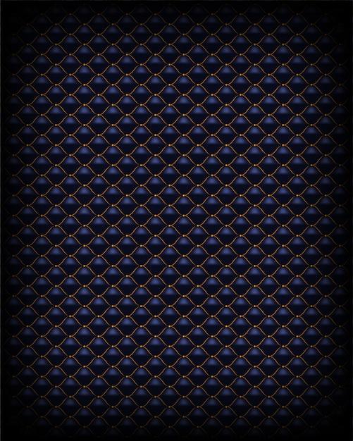 レザーテクスチャ抽象的な多角形パターン高級ダークパープル Premiumベクター