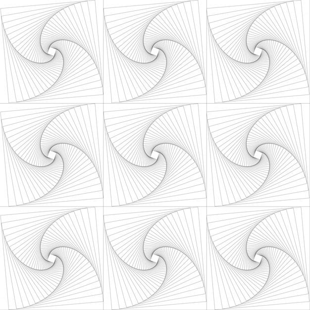 正方形をパターンに回転 Premiumベクター