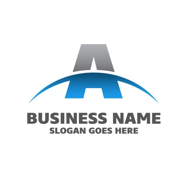 Аннотация бизнес логотип Бесплатные векторы