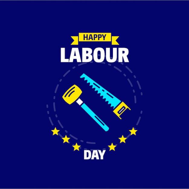 Счастливый рабочий день Бесплатные векторы