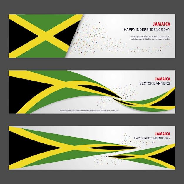 ジャマイカ独立記念日 無料ベクター