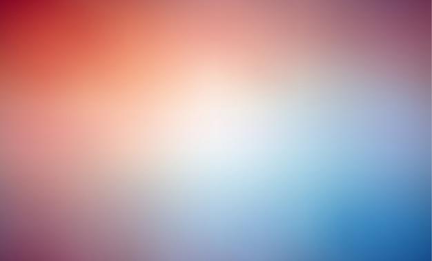 Красочный размытый фон с градиентной сетки Premium векторы