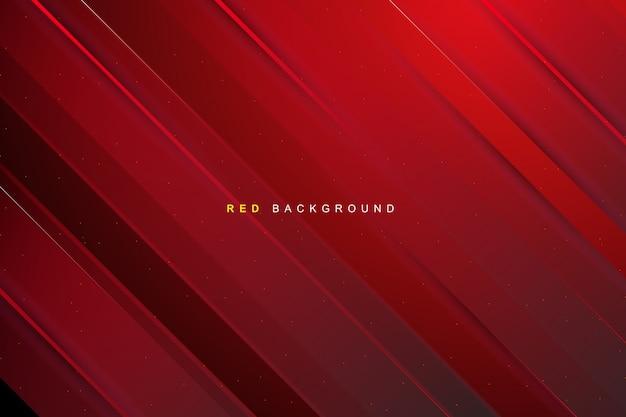 赤い縞模様のテクスチャ Premiumベクター