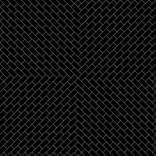 ブラックレンガのパターンの背景 無料ベクター