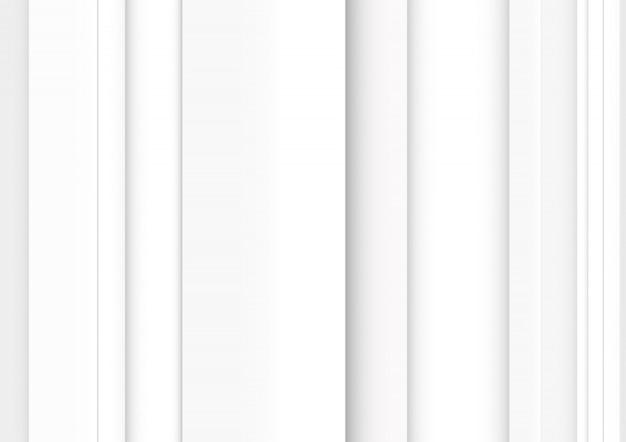 Абстрактный фон белые серые полосы Premium векторы