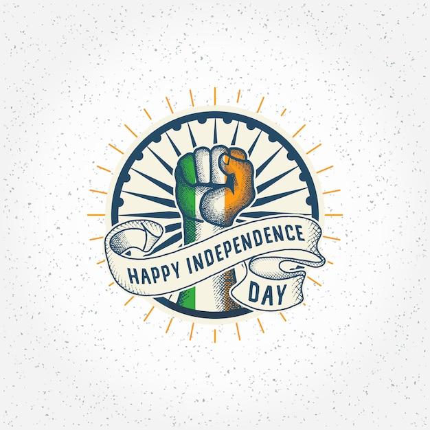 インド独立記念日プレミアムベクトル Premiumベクター