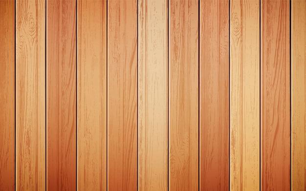 現実的な木材の背景 無料ベクター