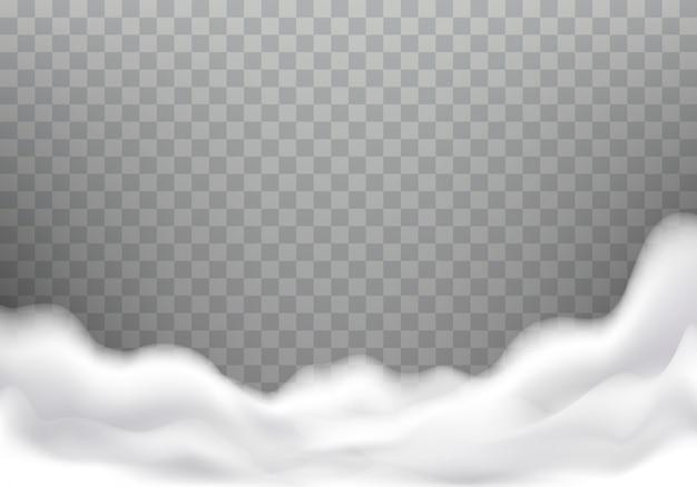 Пена для ванны реалистичная текстура, рамка Бесплатные векторы
