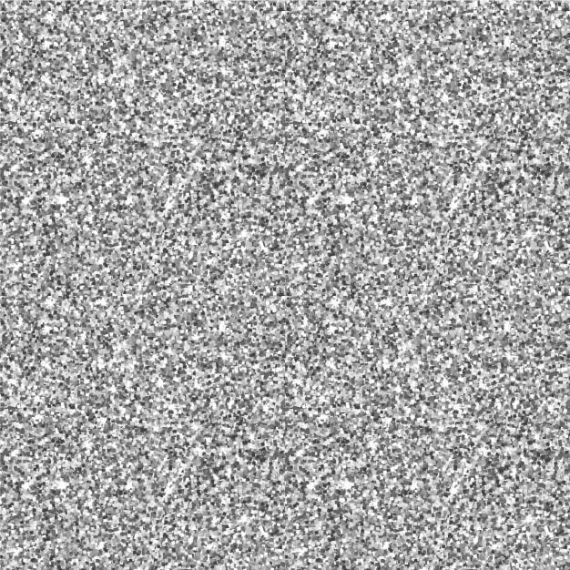 シルバーラメのシームレスなパターン 無料ベクター
