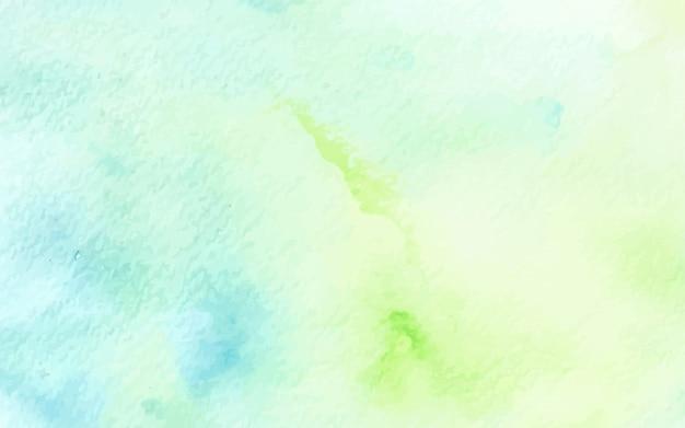 Абстрактная пастель акварель зеленый синий текстура фон Premium векторы