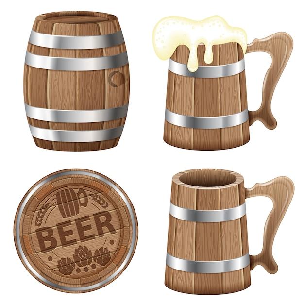 ビールコレクション Premiumベクター
