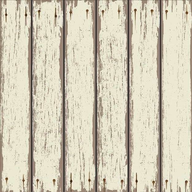 古い木製のフェンスの背景 Premiumベクター