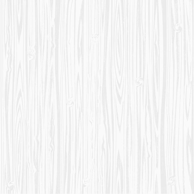 木製の白いテクスチャ背景 Premiumベクター