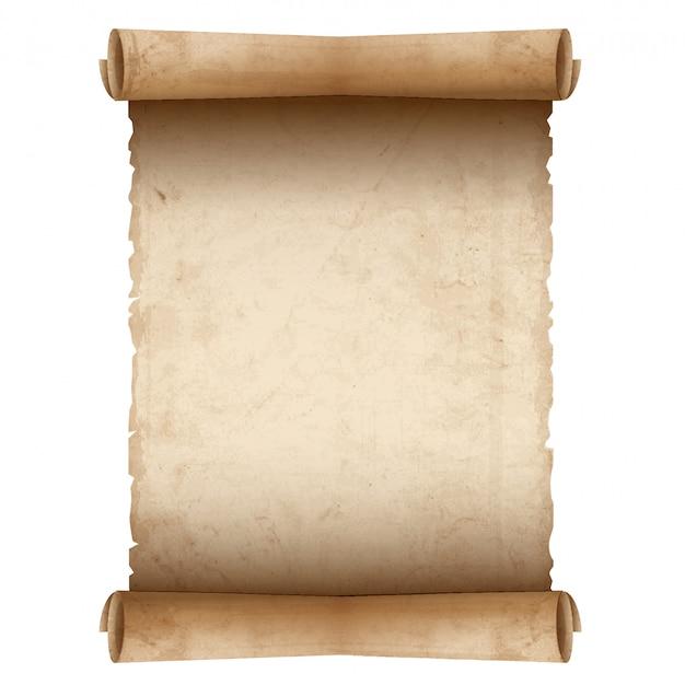 古いスクロール紙 Premiumベクター