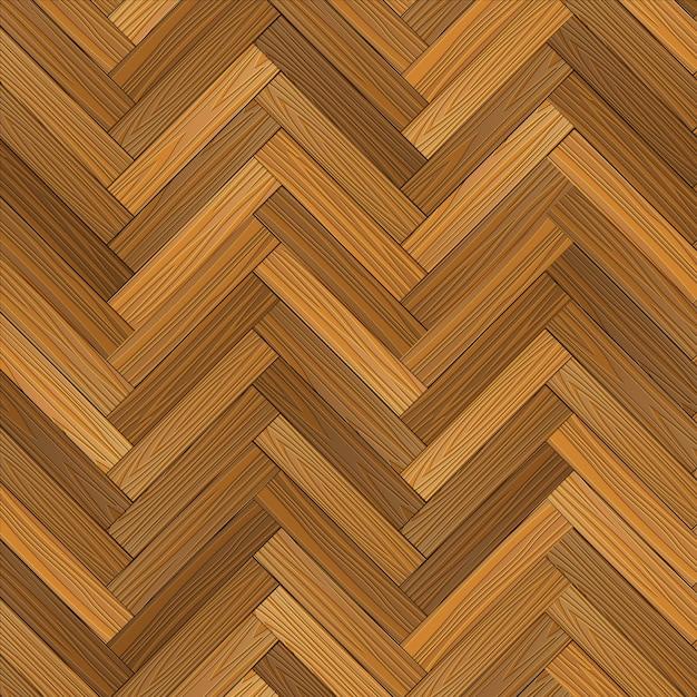 ベクトルの木製の寄せ木張りの床 Premiumベクター