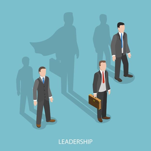 ビジネスのリーダーシップ Premiumベクター