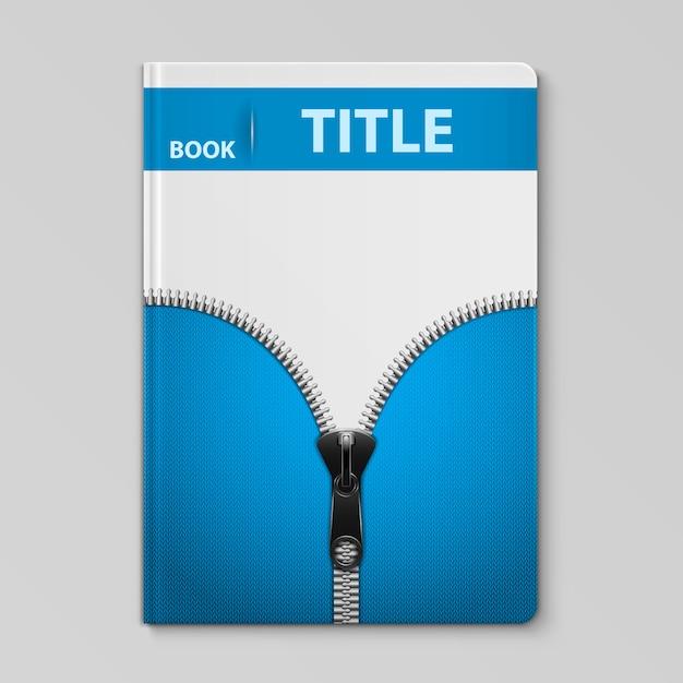 ニットテキスタイルデザインの本の表紙のテンプレート Premiumベクター