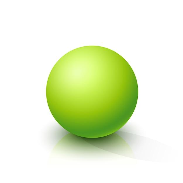 アシッドグリーン球 Premiumベクター