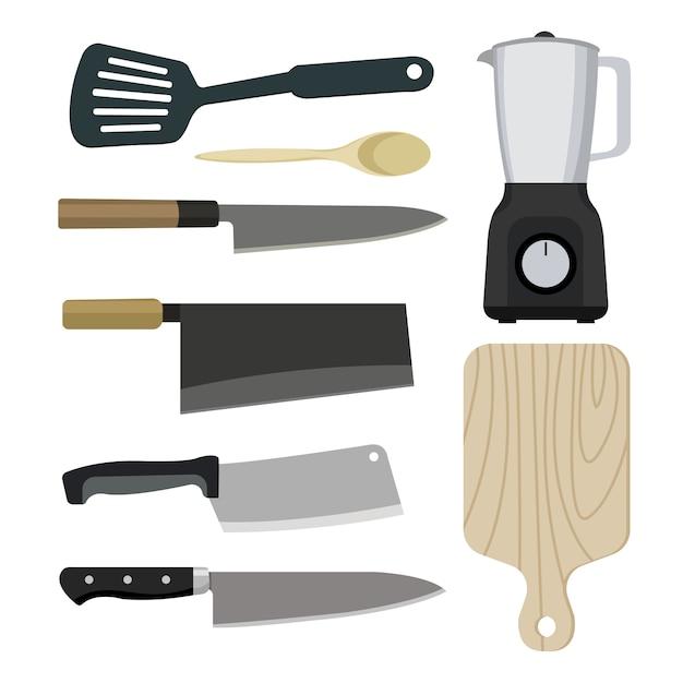 キッチンコレクションベクトル Premiumベクター