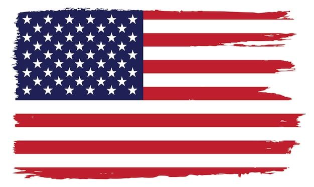アメリカの国旗デザイン Premiumベクター